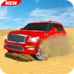 Offroad Jeep Drifting 3D Icon