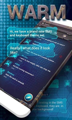 FREE GO SMS WARM THEME