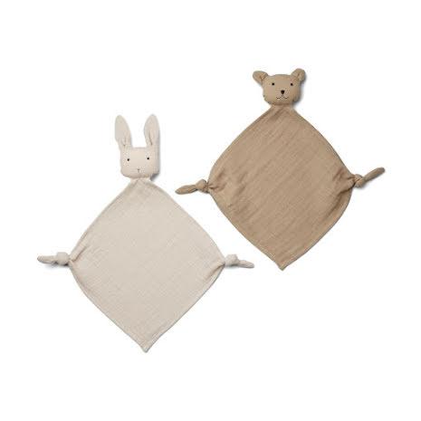 Mini Gosefilt 2-Pack Sandy/stone beige