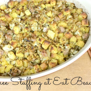 GRAIN-FREE STUFFING RECIPE with SAUSAGE