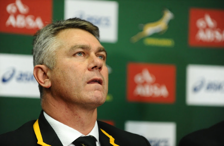 Former Springbok head coach Heyneke Meyer. File photo