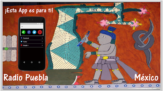 Radio Puebla México - náhled
