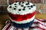 Patriotic Gelatin Fruit Salad Recipe