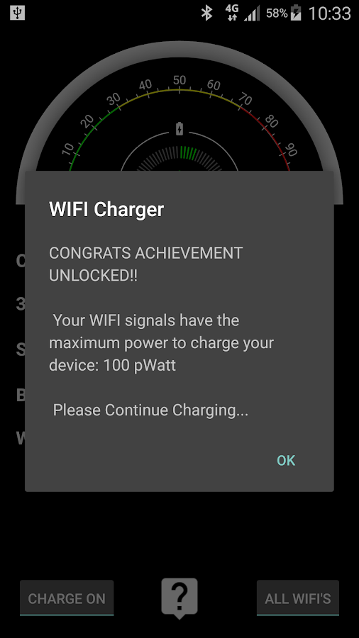 WIFI Charger Prank- screenshot