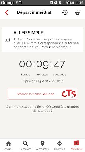 CTS Transports Strasbourg screenshot 4
