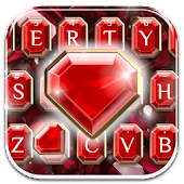 Ruby Diamonds Keyboard