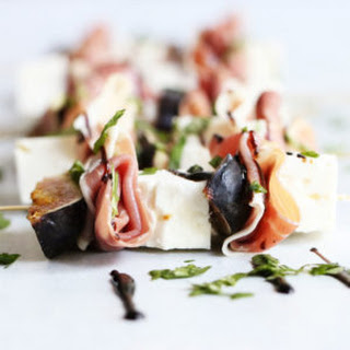Prosciutto + Fig Kabobs Recipe