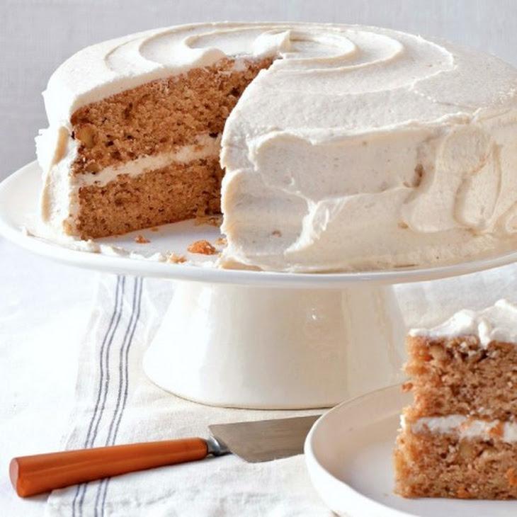 Parsnip-Ginger Layer Cake Recipe