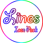 Color lines - Icon Pack 1.7 (Patched)