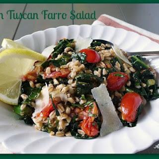 Warm Tuscan Farro Salad.