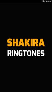 Shakira ringtones free 1.3 Mod + Data Download 1
