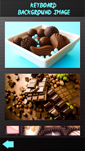 Lahodné čokoládové klávesnice - náhled