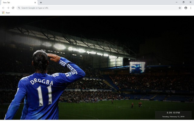 Chelsea New Tab & Wallpapers Collection