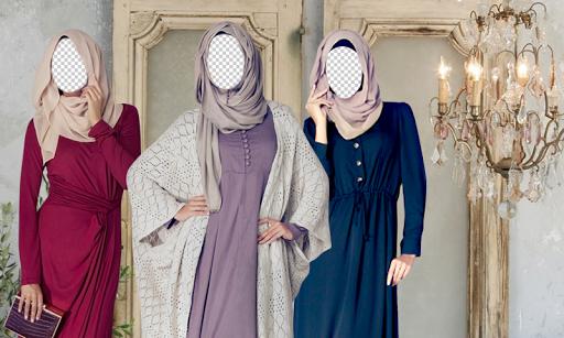 Jilbab Fashion Hijab Montage