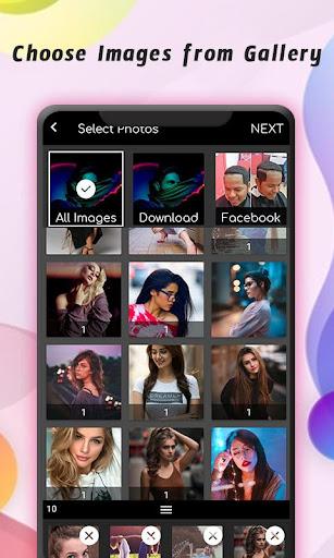 PhotoVid - Photo Video Maker con capturas de pantalla de música 2