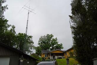 Photo: Första provresning med antenner. Snyggt!
