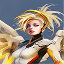 Overwatch Mercy Wallpapers HD Theme