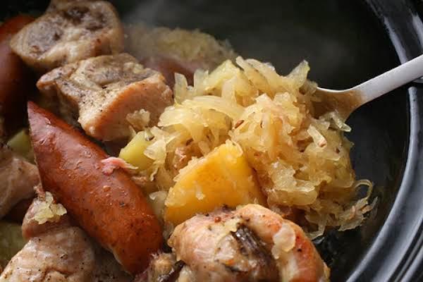 Sauerkraut My Grandma's Way Recipe