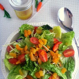 Romaine and Apricot Salad.
