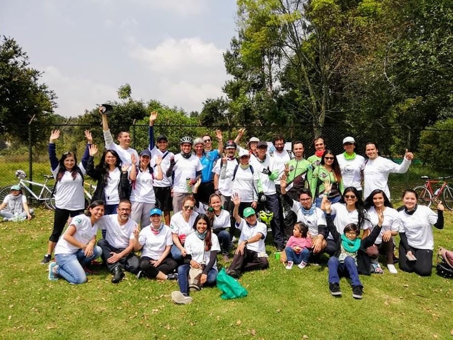 Voluntarios Bicicaravana 2019
