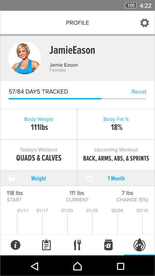 LiveFit with Jamie Eason- screenshot