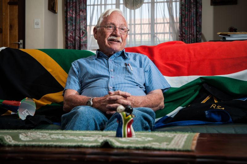 Designer Of New SA Flag Fred Brownell Dies