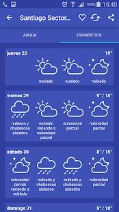 Meteorología Chile- screenshot thumbnail