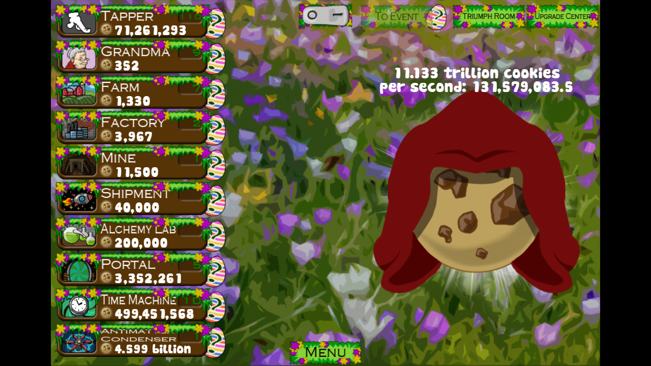 Cookie Clicker- screenshot