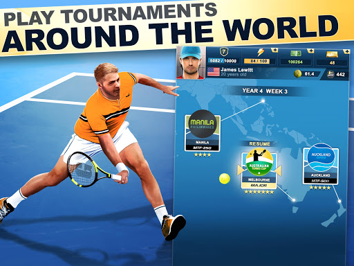 TOP SEED Tennis: Sports Management Simulation Game 2.43.1 screenshots 6