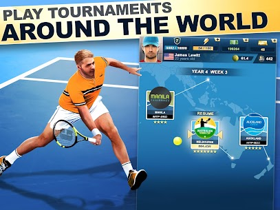 TOP SEED Tennis Mod Apk 2.53.2 (Unlimited Cash/Gold) 6