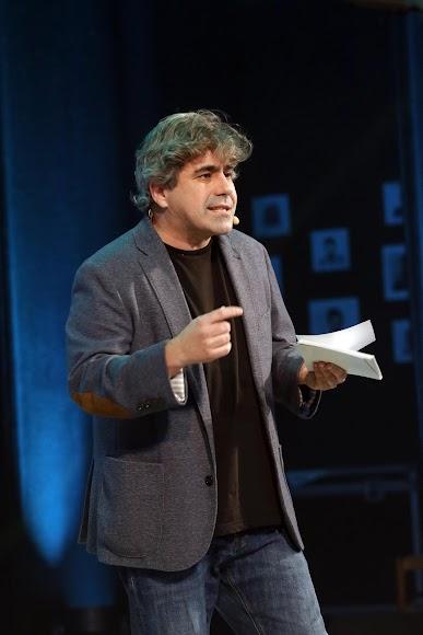 Pepe Céspedes, presentador de la gala.