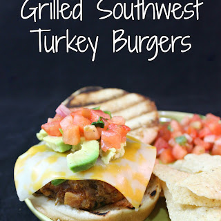 Grilled Southwest Turkey Burgers