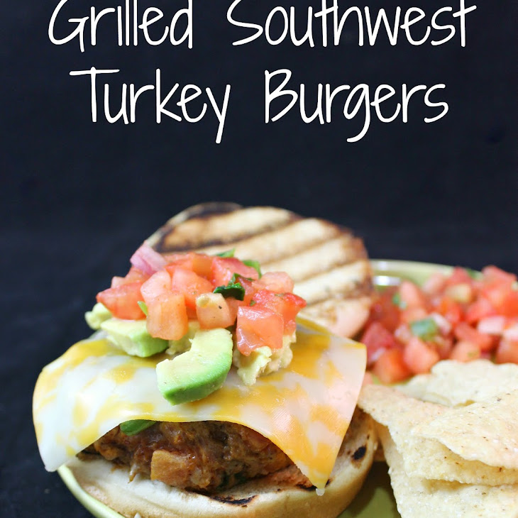 Grilled Southwest Turkey Burgers Recipe