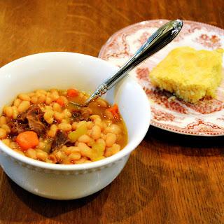 Nourishing Navy Bean Soup.