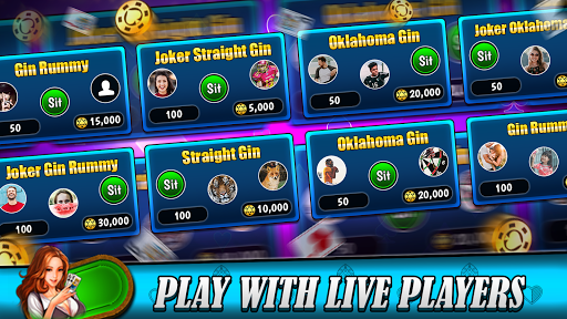Gin rummy free Online card game painmod.com screenshots 6