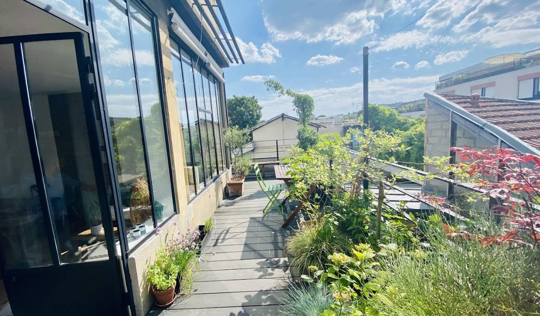 Loft avec terrasse Montreuil