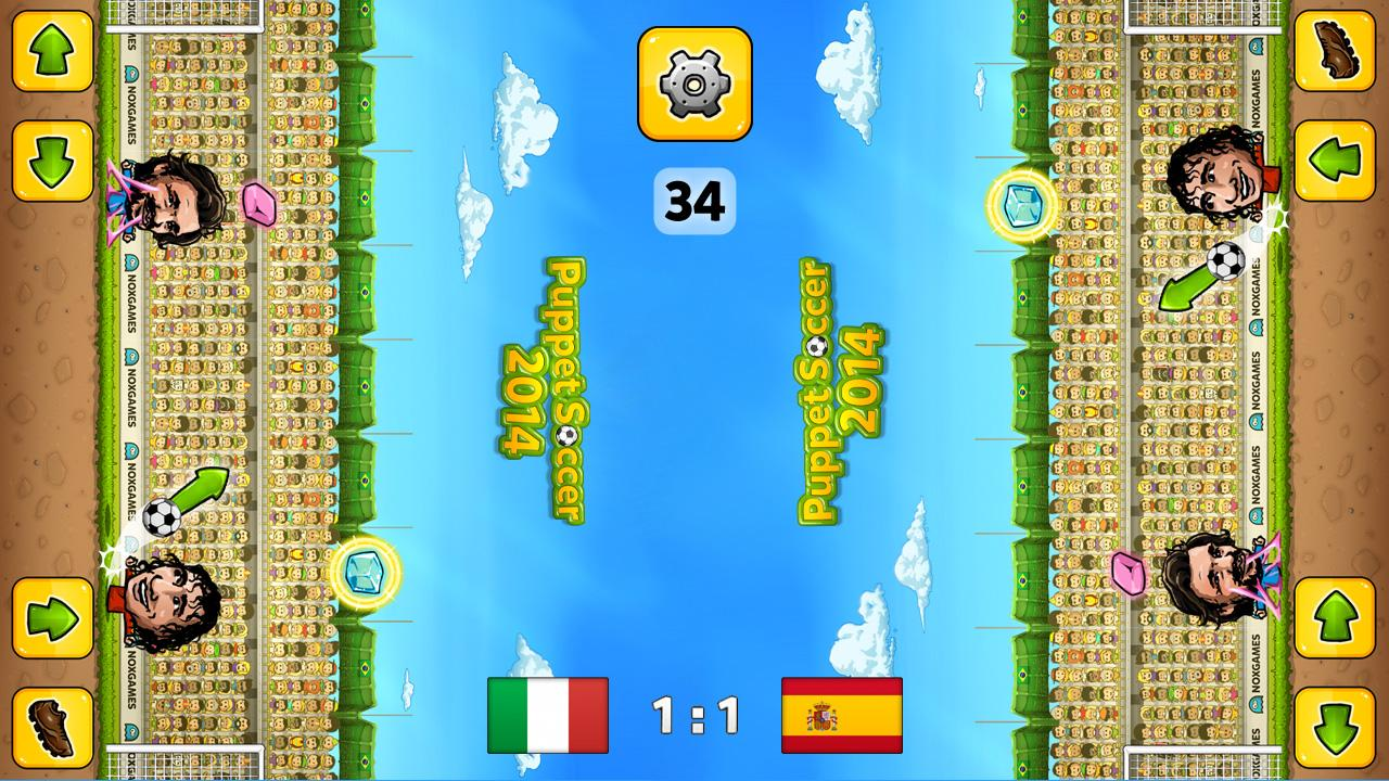 Puppet Soccer 2014 - Football- screenshot