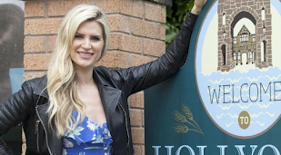 Hollyoaks' Mandy Richardson and Luke Morgan back together