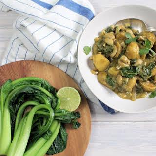 30 Minute Vegan Massaman Curry.