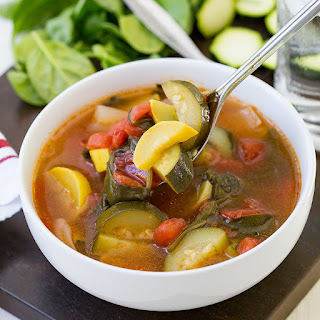 Crock Pot Vegetable Soup.