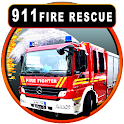 911 FireTruck Emergency Rescue icon