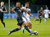 Olivier Verdon satisfait après le match contre Anderlecht