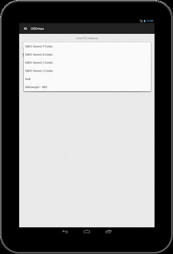 OBD2 scanner & fault codes description: OBDmax  screenshots 10