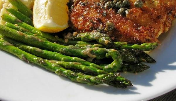 Lemon-garlic Asparagus Recipe
