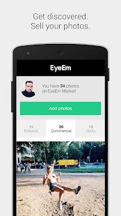 EyeEm - Camera & Photo Filter - screenshot thumbnail