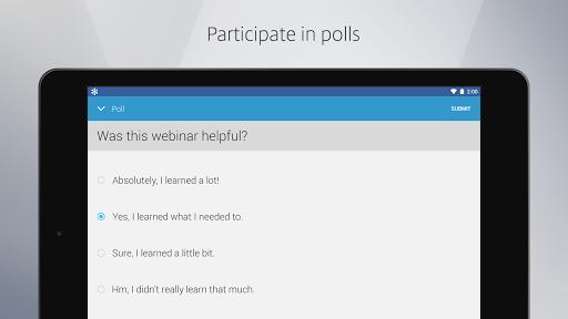 GoToWebinar Screenshot