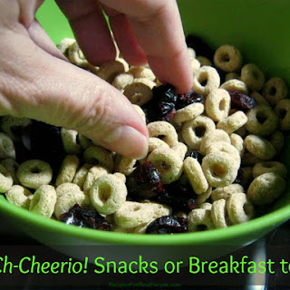 Ch-Ch-Cheerio! Snacks or Breakfast to Go
