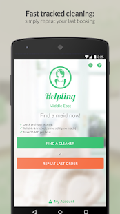 Helpling ME Cleaning Services- screenshot thumbnail