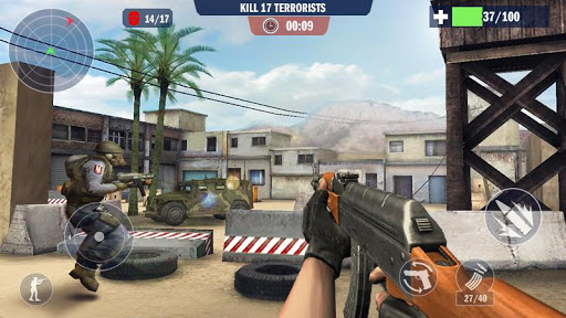 Policier spécial antiterroriste Counter Terrorist  captures d'écran 2