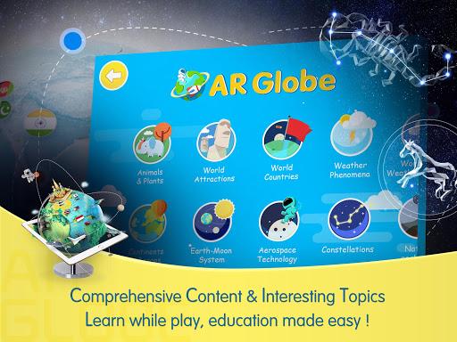 Capturas de pantalla de AR Globe by Vivabro 7